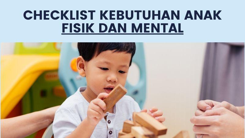 kebutuhan dasar anak