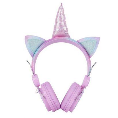 Headphone Anak - Crimson Unicorn