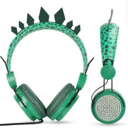 Rekomendasi Headphone Anak - Crimson Dinosaur