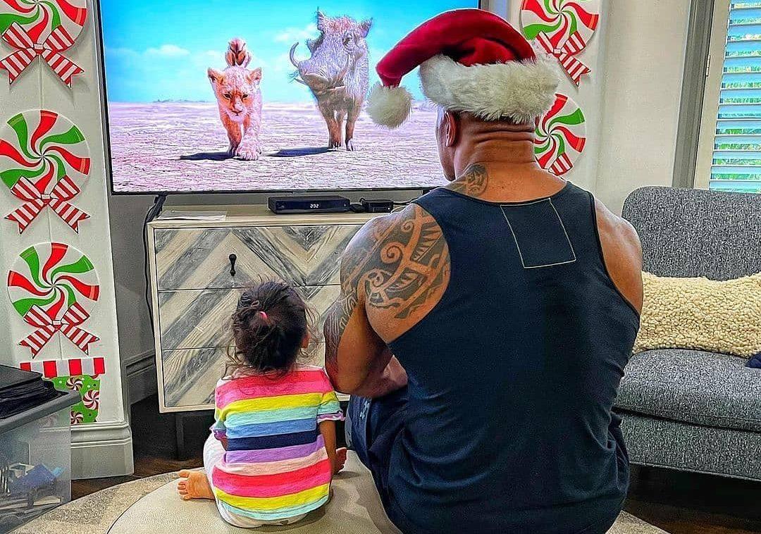 tips parenting dari dwayne Johnson