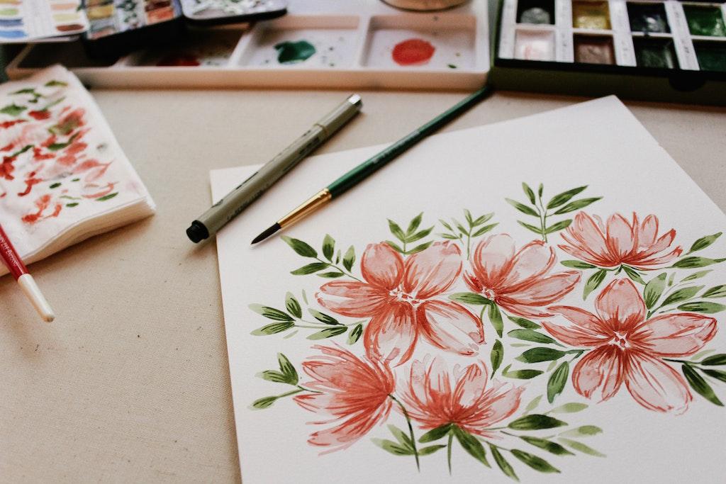 manfaat watercoloring